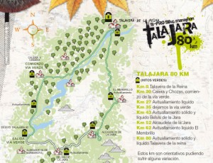 Recorrido Talajara 80