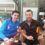 Foto de los biciocios Miguel y Oscar en Torrejón