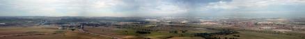 Panorama vistas desde cerro El Viso