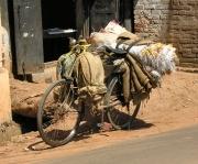 Mi bici preparada para El Camino de Santiago