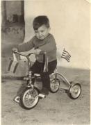 Alberto en mountainbike de los 60